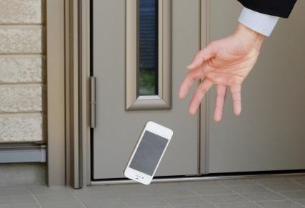 iPhoneの落下予防対策