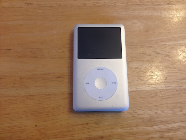 ipod classic・iphone・3DS修理 大阪 吹田のお客様