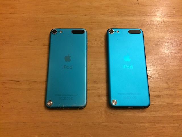 ipod touch5/ipod nano6/ipod nano7修理 大阪のお客様
