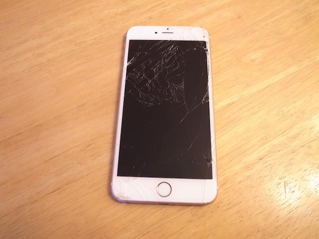 iphone6液晶交換修理 吹田のお客様