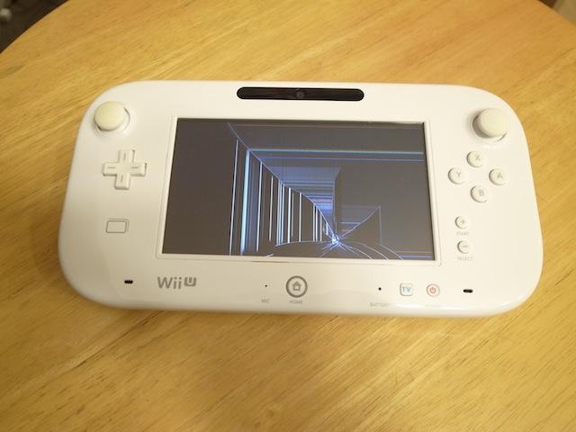WiiUのゲームパッド液晶修理 梅田のお客様