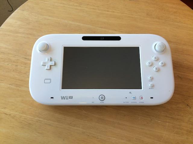 梅田のお客様よりWii Uのgamepadの修理のご依頼をいただきました。