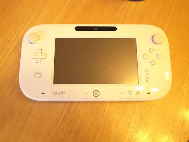 WiiUのゲームパッド修理 茨木のお客様