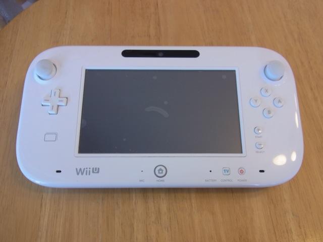 Wii Uのgamepad故障修理 大阪のお客様