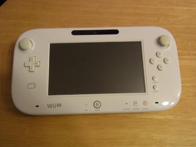 Wii Uのgamepad/PSVITA/iphone修理 吹田のお客様