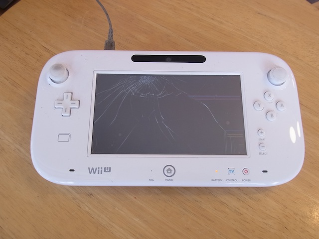 Wii Uのgamepad/ipod classic/iphone修理 梅田のお客様