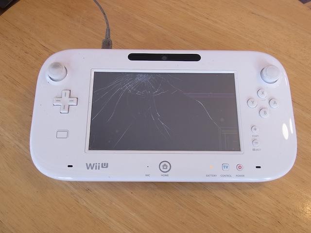 Wii Uのgamepad/ipod classic/iphone修理 梅田のお客様
