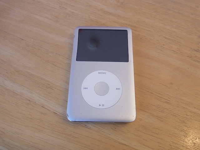 ipod classic/ipod nano7/iphone修理 梅田のお客様