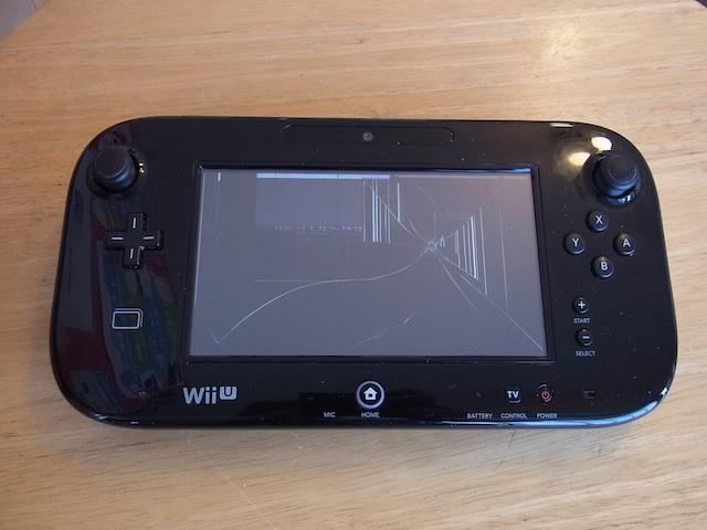 Wii Uのgamepad/PSVITA2000/ipod classic修理  大阪のお客様