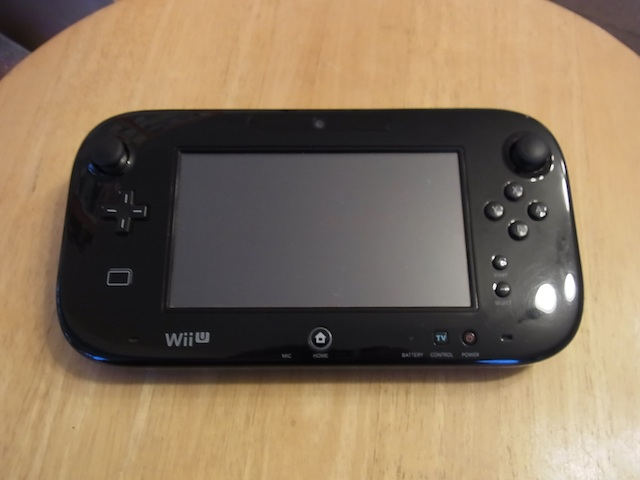 Wii Uのgamepad/任天堂3DS/ipod classic修理 難波のお客様