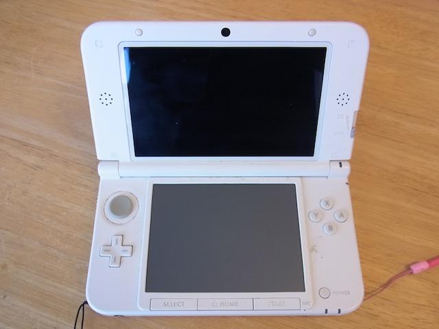 任天堂3DS/Wii Uのgamepad/iphone6s修理  吹田のお客様