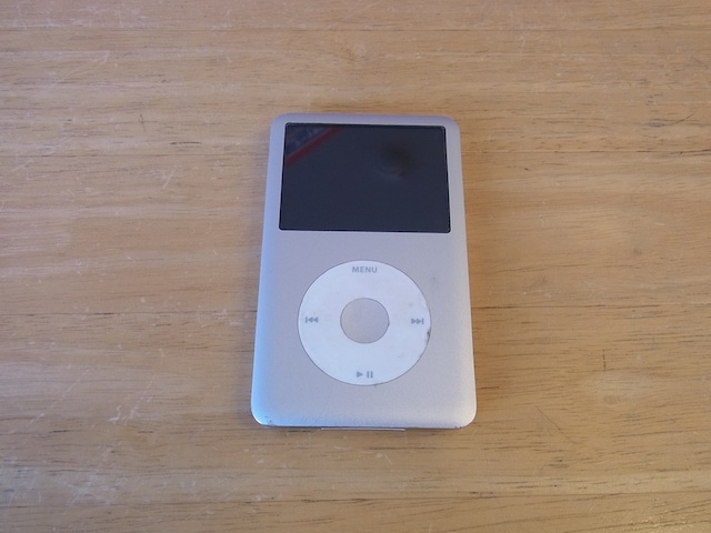 ipod classic/ipod nano6/iphone6修理 吹田のお客様