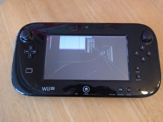 Wii Uのgamepad/ipod classic/iphone6s修理 吹田のお客様