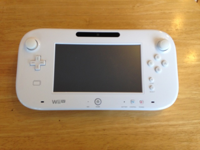 Wii Uのgamepad/iphone/ipod classic修理 吹田のお客様