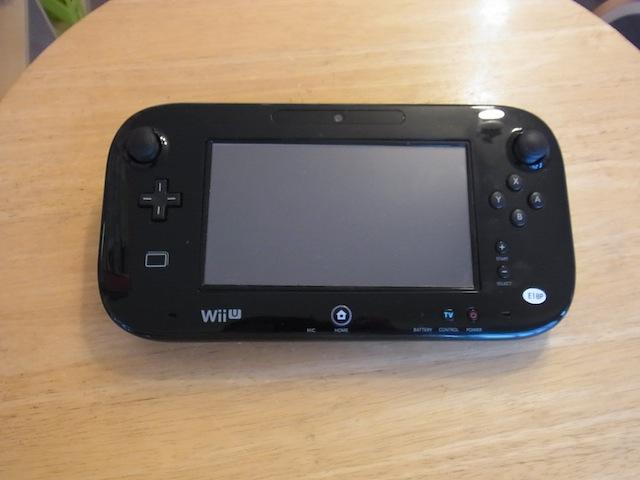 Wii Uのgamepad/任天堂3DS/ipod classic修理 梅田のお客様