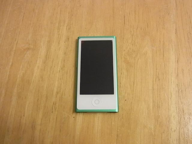ipod nano7/ipod classic修理 吹田のお客様