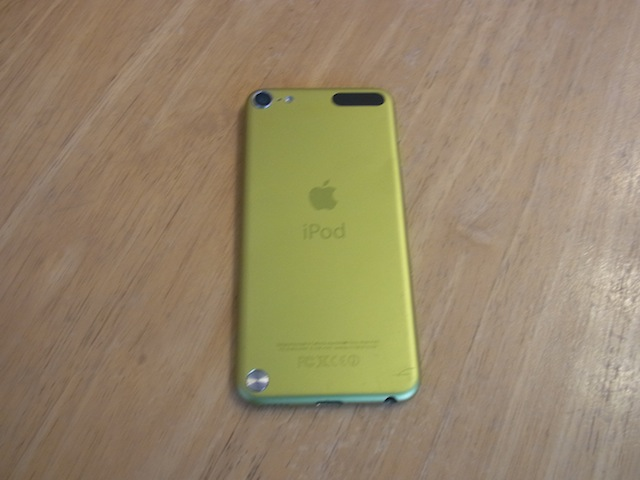 ipod touhc5/iphone6s修理 吹田のお客様