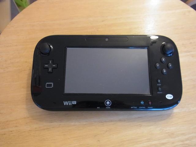 大阪 Wii Uのgamepad持ち込み修理