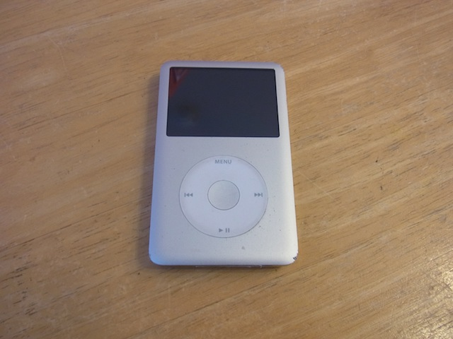 iPod classic同期できない 茨木のお客様