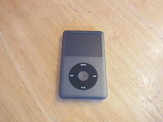 吹田のお客様 iPod classic/iphone修理店