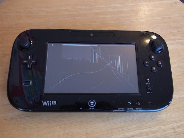 茨木からご来店 WiiUゲームパッド/PSvita2000持ち込み修理