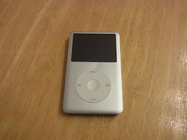 茨木のお客様 iPod classic持ち込み修理予約