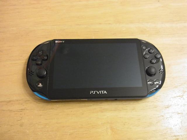 吹田のお客様 PSvita2000/任天堂3DS持ち込み修理予約
