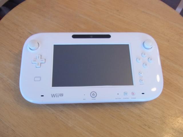 茨木からご来店 WiiUゲームパッド持ち込み修理