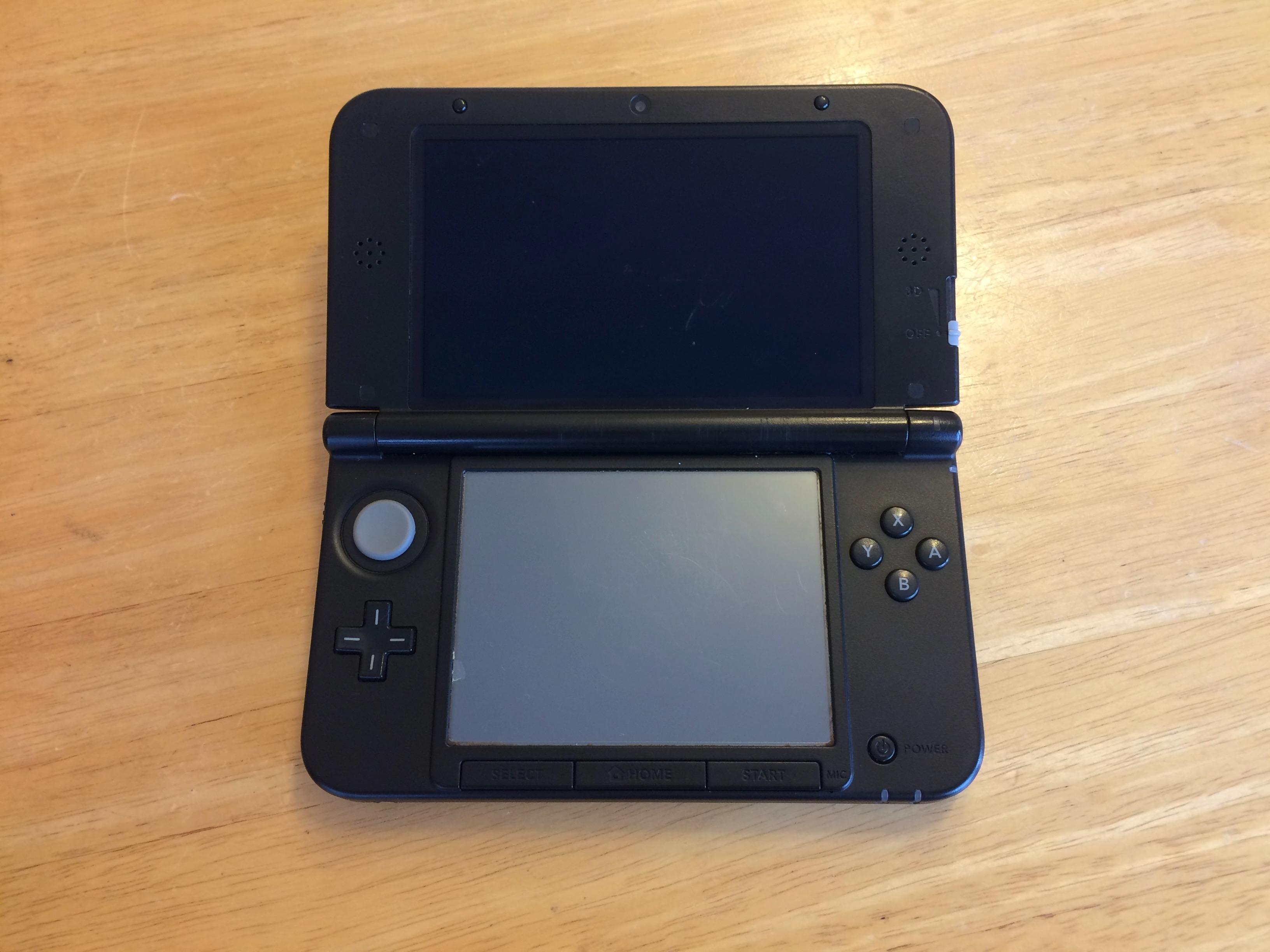 箕面市のお客様 任天堂3DS持ち込み修理予約のご案内