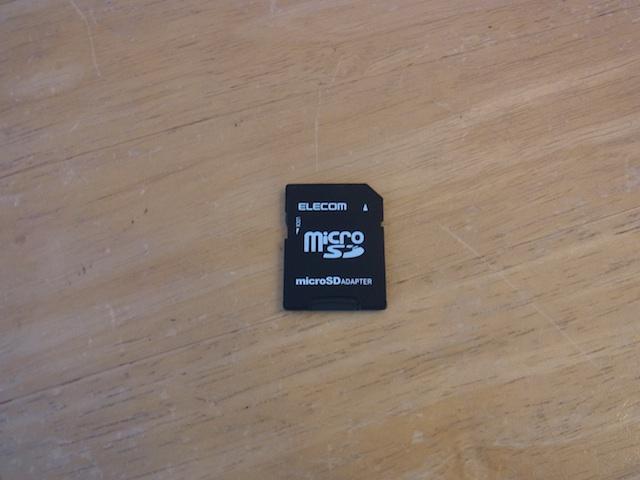 吹田のお客様 SDカードデータ復旧のご案内