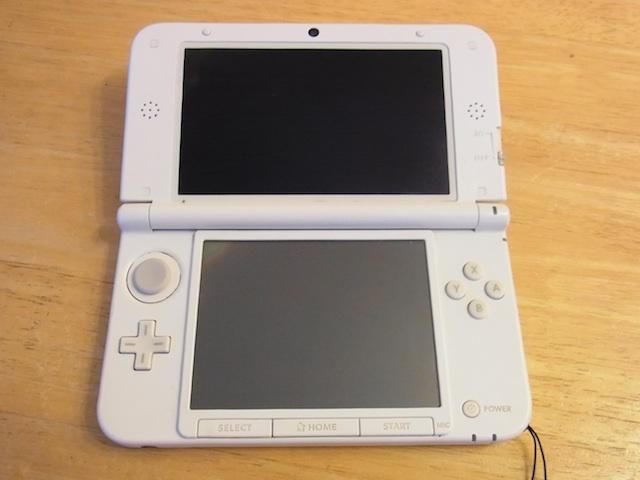 箕面のお客様 任天堂3DSタッチパネル修理のご案内