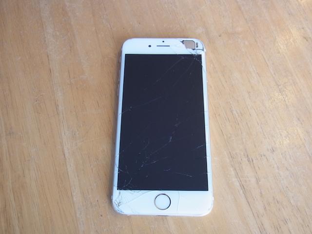 千里丘のお客様 画面故障iPhoneの買取なら!
