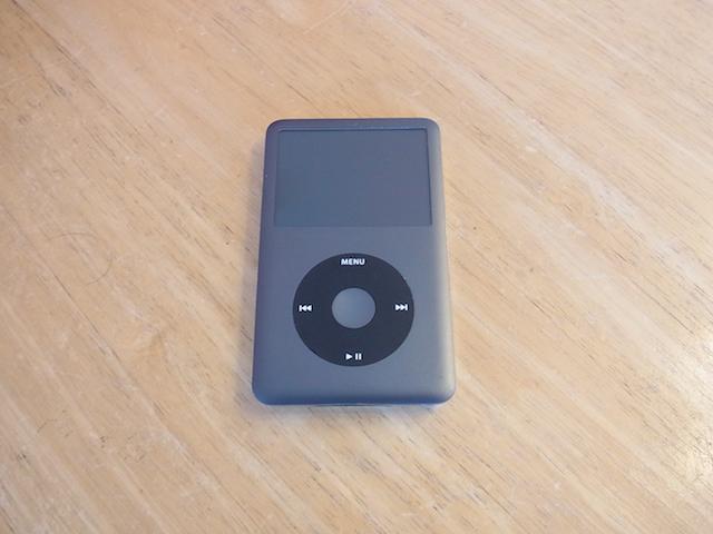 摂津市のからご来店 iPod classicイヤホジャック修理