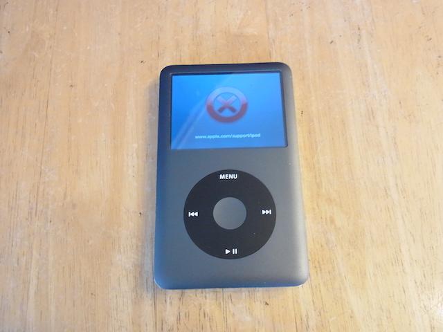 茨木からご来店  iPod classicハードディスク故障の修理なら!