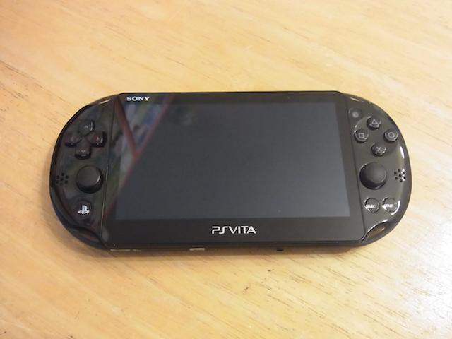 茨木のお客様 PSvita2000/任天堂3DS店頭修理