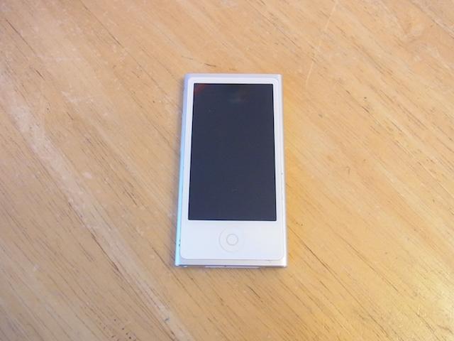 吹田市のお客様 iPod nano7預かり修理