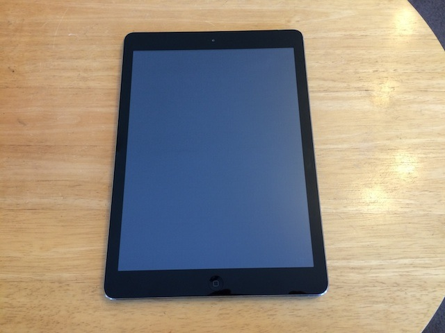 千里丘のお客様 iPad Airバッテリー交換受付