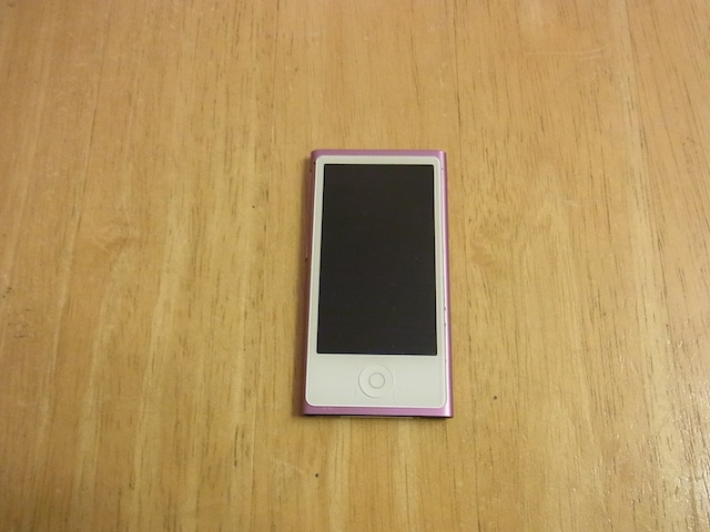 吹田のお客様 iPod nano7バッテリー交換 預かり修理