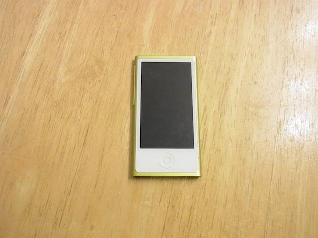 吹田のお客様 iPod nano7バッテリー交換受付