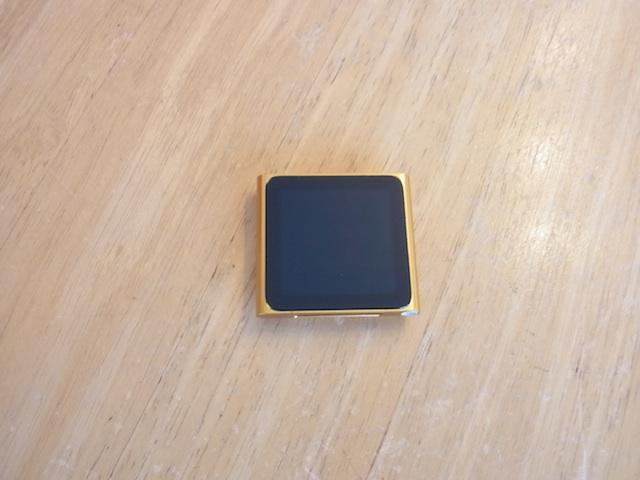 吹田のお客様 iPod nano6電源ボタン修理 預かり修理
