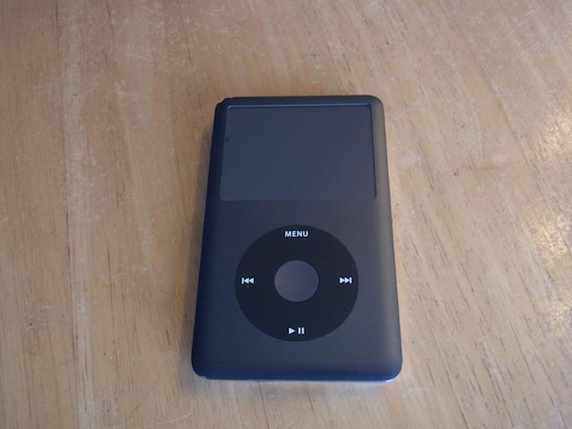 寝屋川のお客様 iPod classic/HDD故障 持ち込み修理予約