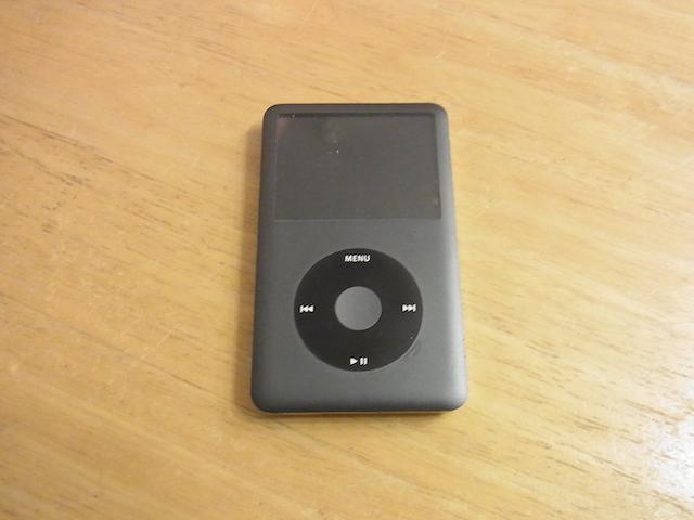 吹田のお客様 故障iPod classic買取予約