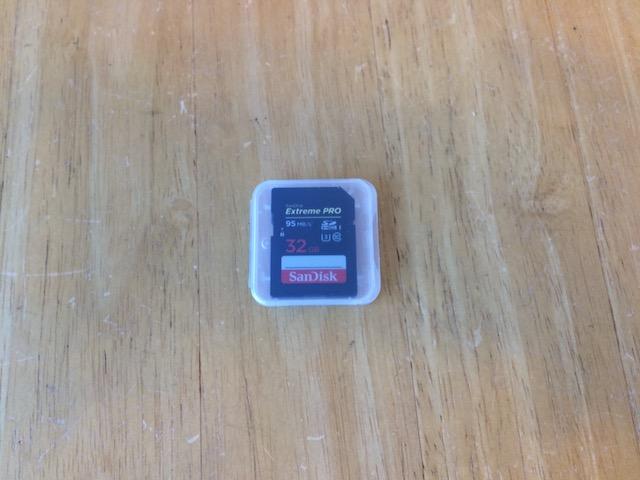 高槻からご来店 SDカードデータ消えた/データ復元