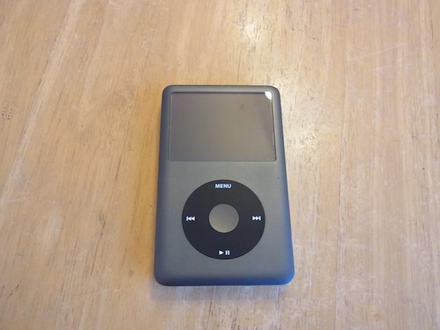茨木のお客様 iPod classicバッテリー交換 来店予約