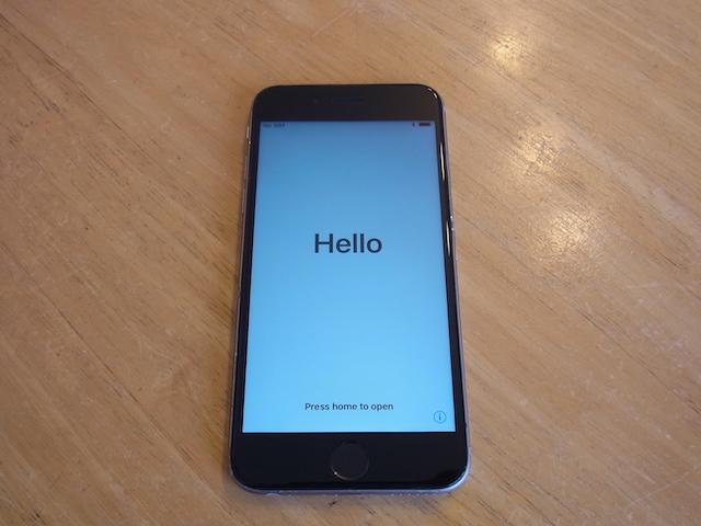 茨木のお客様 マナーボタン故障iPhone買取予約