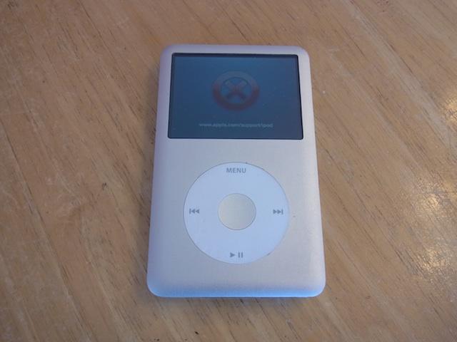 茨木のお客様 iPod classic大容量化カスタム