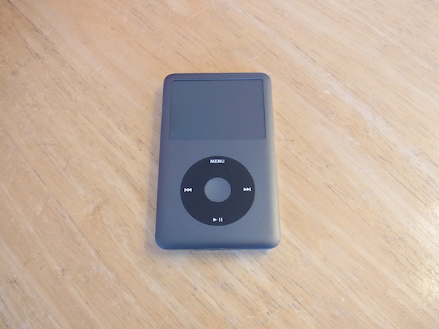 iPod classic/iPod nano7バッテリー交換 大阪のお客様