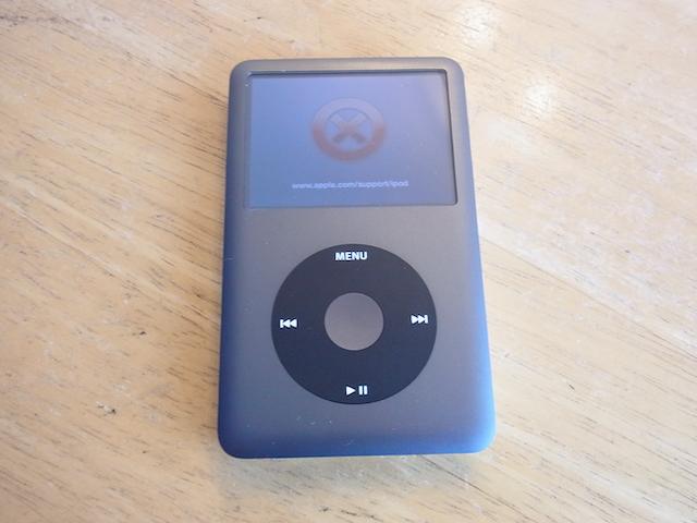 iPod classic赤いバツマーク 吹田の修理店